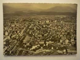 2ohq - CPSM N°8 - GRENOBLE - Vue Panoramique Aérienne - [38] - Isère - Grenoble