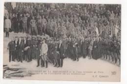 Militaria - Le Président De La République Et Le Camp Retranché De Paris - Guerre 1914-18
