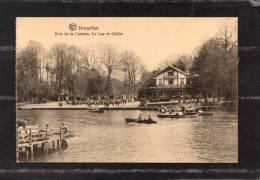 37429     Belgio,   Bruxelles - Bois  De La  Chambre -Le  Lac  Et  Chalet,  NV - Foreste, Parchi, Giardini