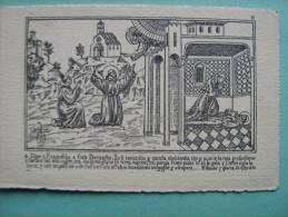 VOCE SERAFICA RIVISTA FRANCESCANA ROMA - TIMBRO POSTALE CORTONA AREZZO - PROPP. CANTARELLI FOLIGNO 1931 - Arezzo