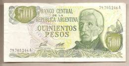 Argentina - Banconota Circolata Da 500 Pesos P-303a.1 - 1977 - Argentina
