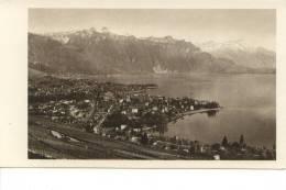 Vevey Vue Générale Et Tour D'Aï - VD Vaud