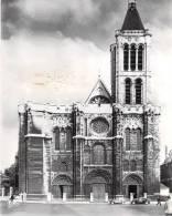[93]Saint Denis-BASILIQUE Façade Occidentale XIIe (auto Voiture Citroen 2 CV Traction ) -Etat = Voir Description - Saint Denis