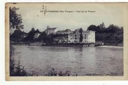 Cpa St   Victurnien  Vue Sur La Vienne - Otros Municipios