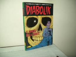 Diabolik(Astorina 1994)  Anno XXXIII°  N. 4 - Diabolik