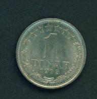 YUGOSLAVIA  - 1965 1d Circ - Yugoslavia