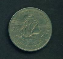 EAST CARIBBEAN STATES  - 1989 25c Circ - East Caribbean States