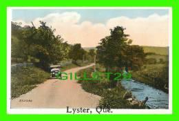 LYSTER, QUÉBEC - RANG SUR LE BORD DE LA RIVIÈRE - SERIES No 741 LANDSCAPES 24 DESIGNS - - Quebec