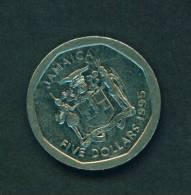 JAMAICA - 1995 $5 Circ. - Jamaica