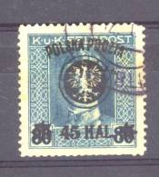 Pologne  -  1919  :  Yv  104  (o)  Dentelé 12 - ....-1919 Governo Provvisiorio