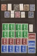 Norvège Lot De Timbres Anciens    Voir 2 Scans    (ref 785 ) - Mezclas (max 999 Sellos)