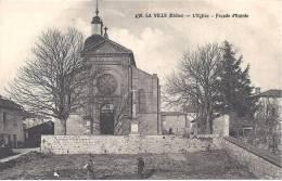 LA  VILLE - L' Eglise - Façade D' Entrée - France