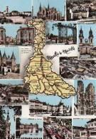 54 - Meurthe Et Moselle : Multivues Et Carte Géographique Du Département - CPM écrite - Non Classés