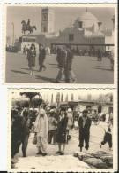 Très Beau Lot De 29  Photos - Algérie -Alger -  Constantine - Maison Carrée - Autres à Identifier - Marché - Souk - Lieux