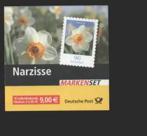 BRD / Bund  **  Markenheft 61 Blumen Narzisse   Selbstklebend - Carnet