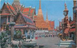 BANGKOK - Inside The Emerald Buddha Temple (Thai Silpa, PC. 304) - Thailand