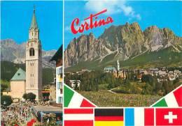 CPM - CORTINA (Foto Ghedina, Cortina D'Ampezzo, 1.256) - Belluno