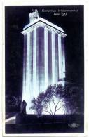 75 PARIS PAVILLON DE L ALLEMAGNE VU DE NUIT EXPOSITION INTERNATIONAL PARIS 1937 - Expositions