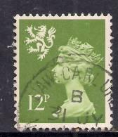 SCOTLAND GB 1980 12p Yellowish Green Machin Stamp SG S33 ( K204 ) - Regional Issues