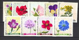 Pologne  -  1967  :  Yv  1636-44  **    Fleur -  Flower - 1944-.... Republic