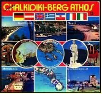 Reiseführer Chalkidiki - Der Garten Griechenlands - Mit Beschreibung Und Zahlreichen Farbfotos Illustriert - Greece