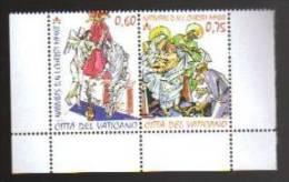 2012 Vaticano - Natale - Coppia Da Libretto - Sinistra Basso Integra_ - Nuovi