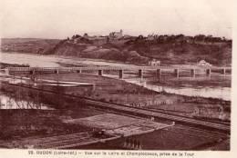 Oudon..belle Vue De La Loire..le Pont..Champtoceaux - Oudon