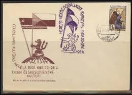 RUSSIA USSR Private Cancellation LATVIA RIGA Klub 006 - 1923-1991 USSR