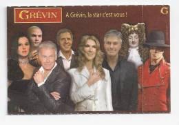 Ticket D´entrée : Musée Grévin. (Voir Commentaires) - Tickets D'entrée
