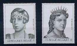 Lot 138 - B 11 - Belgique ** N° 2964/2965 - Reine Elisabeth, Reine Marie-Henriette - Belgium