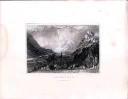 Blick Des Schlosses THURSTEIN Im Tirol - Gravur Auf Stahl Nach Thomas ALLOM - Gegen 1840 - Andere Sammlungen