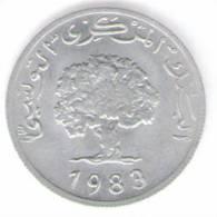 TUNISIA 5 MILLIM 1983 - Tunisia
