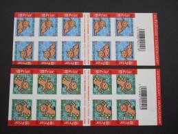 BELGIUM, BELGIEN, BELGIQUE 2005  B52 + B53   MNH **   (SURMAP-G-1600/015) - Booklets 1953-....