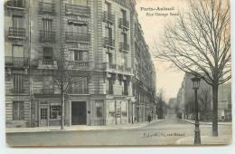 PARIS-AUTEUIL  - Rue George Sand. - District 16