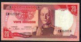 ANGOLA 99   20 ESCUDOS    1972   AU-UNC. - Angola