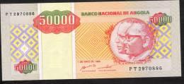 ANGOLA 138   50.000 KWANZAS   1995   UNC. - Angola