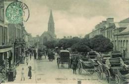 14 CREULLY Un Dimanche De Louerie - Other Municipalities