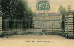 BOUFFEMONT - Pré-sous-ville (jolie Carte Toilée) - Bouffémont