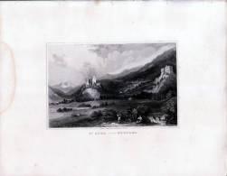 St Afra Mortari  Tirol  - Gravur Auf Stahl Nach Thomas ALLOM - Gegen 1840 - Andere Sammlungen
