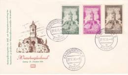 MARCOPHILIE , SAAR, 1956  COVER LETTRE,  FDC, Mi 373.374.375/ 4041 - [7] République Fédérale