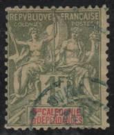 NUEVA CALEDONIA 1892 - Yvert #53 - VFU - Nueva Caledonia