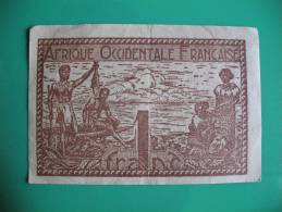 AFIQUE OCCIDENTALE FRANCAISE  _ BILLET DE 1 FRANC - Altri – Africa