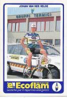 Johan Van Der Velde - Cycling