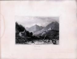 Gayen Tirol  - Gravur Auf Stahl Nach Thomas ALLOM - Gegen 1840 - Andere Sammlungen