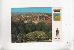 BT4163 Verdun Le Parc Japiot Et Le Centre Ville   2 Scans - Verdun