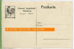 Edmund Junghändel Nürnberg Um 1910/1920  Verlag: ---,  POSTKARTE ,  Unbenutzte Karte , Rücks. Gratulation Erhaltung: I-I - Märkte