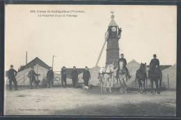 - CPA 56 - Camp-de-Coëtquidan, Le Réservoir D'eau Et L'horloge - Guer Coetquidan