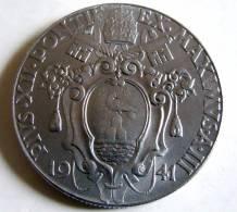 Vatican PAPAL PIUS XII  2  LIRE RARE 1941   RARE QFDC EF\AU - Vatican
