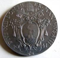 Vatican PAPAL PIUS XII  1  LIRA RARE 1941   RARE QFDC EF\AU - Vatican