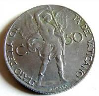 Vatican PAPAL PIUS XII  50 CENTESIMI RARE 1940   RARE QFDC EF\AU - Vatican